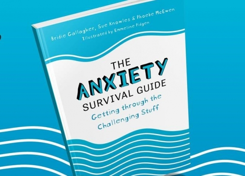 The Anxiety Survuival Guide, co-written by our very own Dr Sue Knowles is out now!
